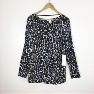Kenneth Cole NWT New Top Blouse